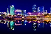 This is an image of a city as it appears on http://www.jozuforwomen.com which shows a cityscape of a beautiful city.